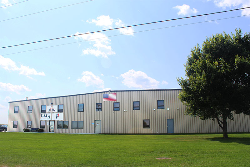 Building at ADA Enterprises, Inc. at 305 Enterprise Dr, Northwood, IA 50459