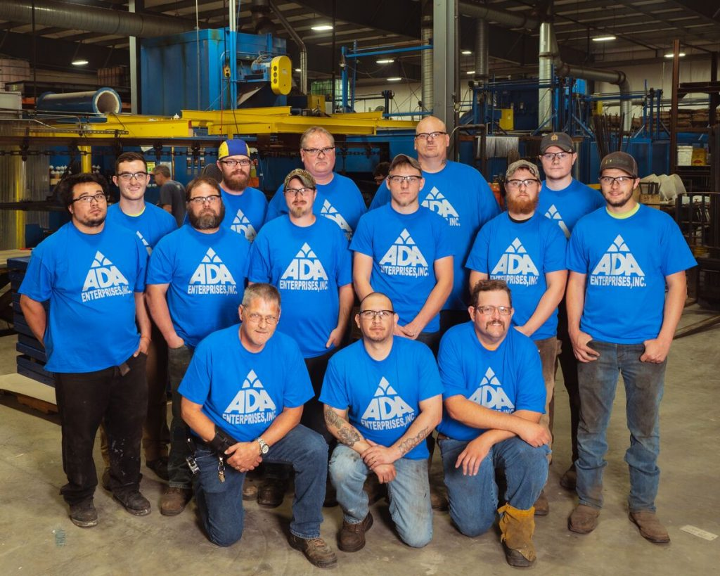 Welding and Fabrication Team members
